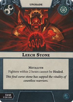 Leech Stone Card