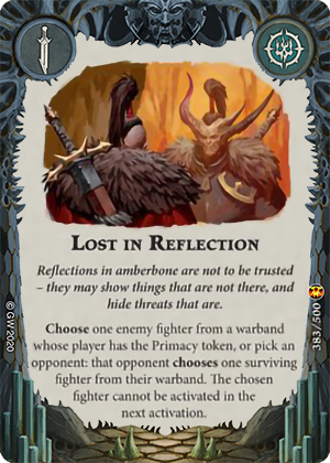 Lost in Reflection card