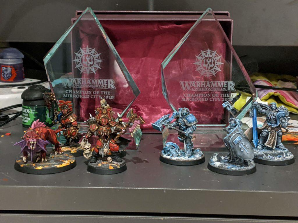 Shadeglass trophy, Magore's fiends, Steelheart's Champions.